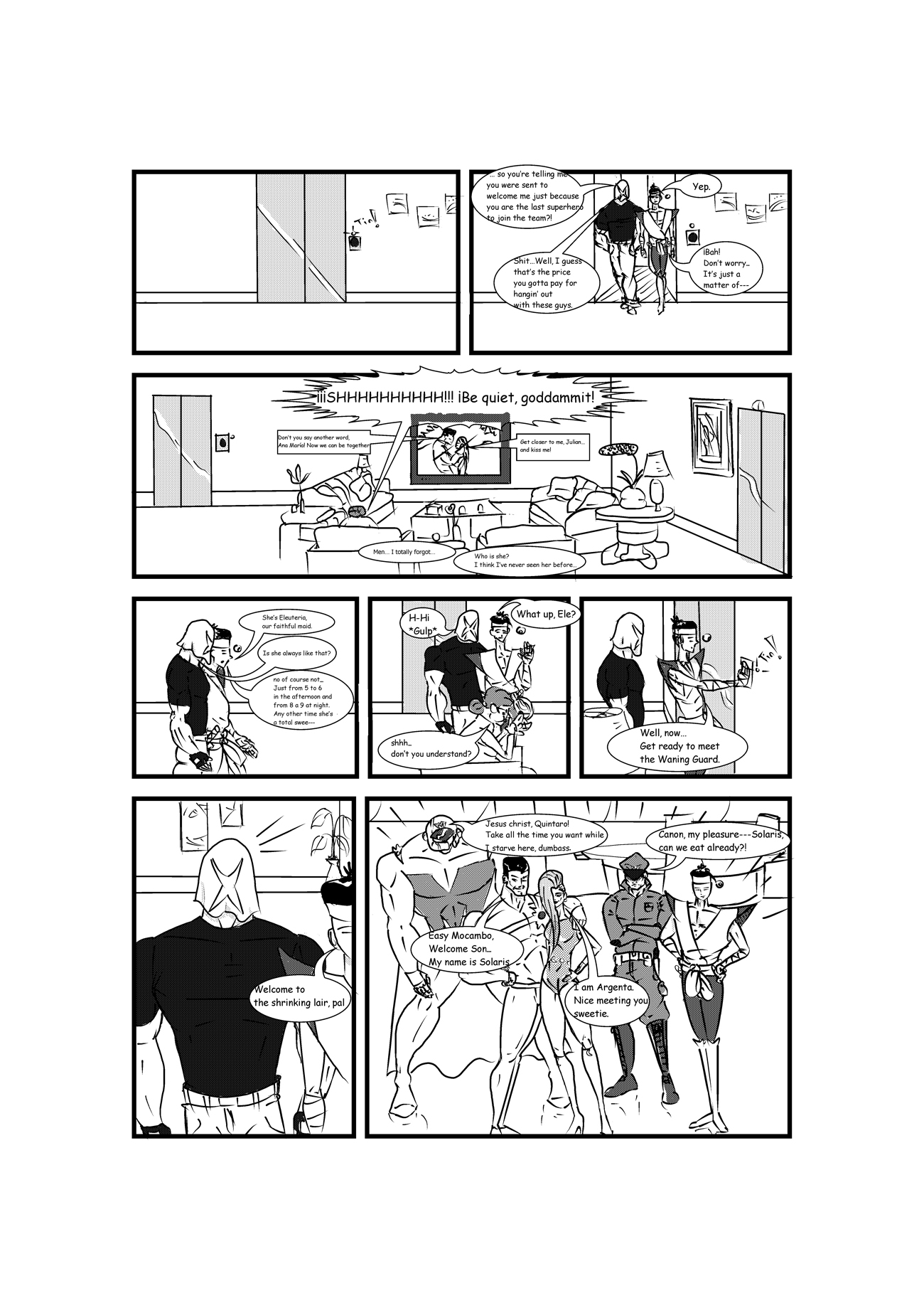The X Avenger page 3